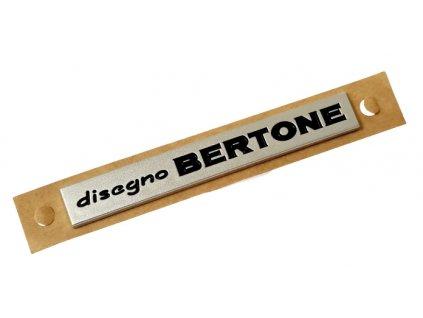 Alfa Romeo Nápis DISEGNO BERTONE 60684624