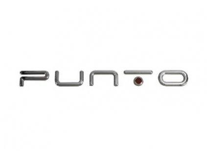 Fiat Punto Nápis Punto zadní