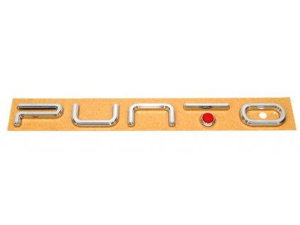 Fiat Grande Punto EVO Nápis Punto zadní