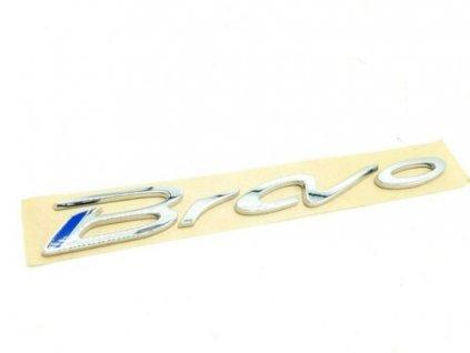 Fiat Bravo Nápis Bravo zadní