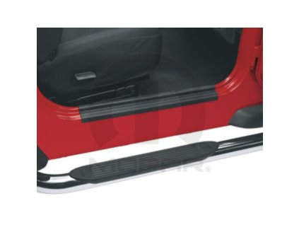 Jeep Wrangler TJ Kryty prahu dveří černý