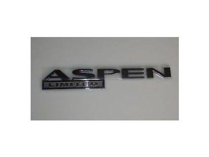 Nápis ASPEN LIMITED HG
