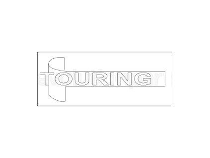 Nápis TOURING JS
