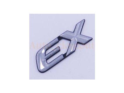 Nápis EX RG