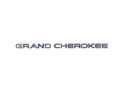 Nápis GRAND CHEROKEE stříbrý ZJ
