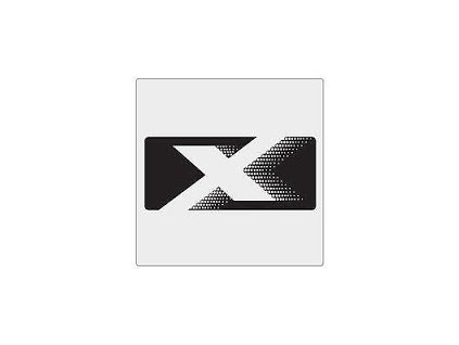 Nápis X BADGE Black JK