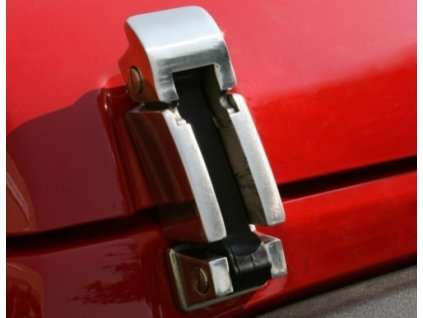 Jeep JK Wrangler Klipy kapoty Stainless