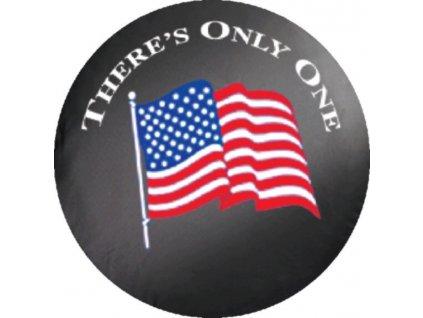 Jeep Wrangler kryt rezervy USA FLAG
