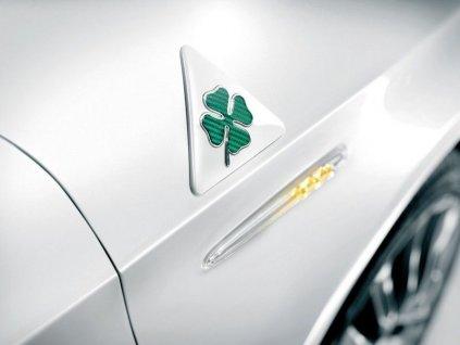 Alfa Romeo Badge se zeleným čtyřlístkem