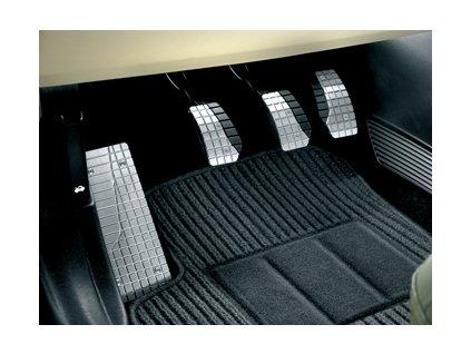 Fiat Sportovní pedály a sportovní opěrka nohy, hliníkové