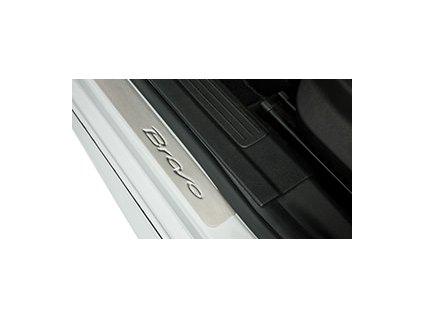 Fiat Bravo Prahové lišty hliníkové