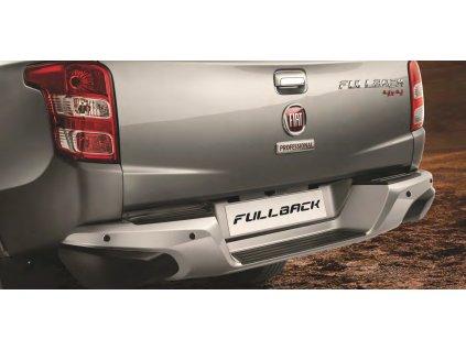 Fiat Fullback Zadní parkovací senzory, se zadním stupátkovým nárazníkem