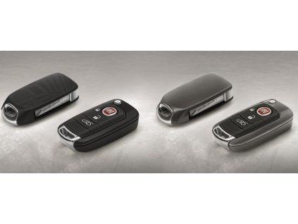 Fiat Tipo Kryty na klíče, matně černý, leskle šedý