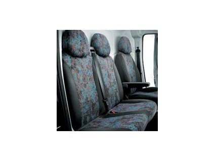 Fiat Ducato Potahy na sedadlo řidiče a přední lavicové sedadlo