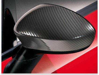 Abarth/Fiat 500/Grande Punto/EVO Kryty zrcátek, karbon efekt