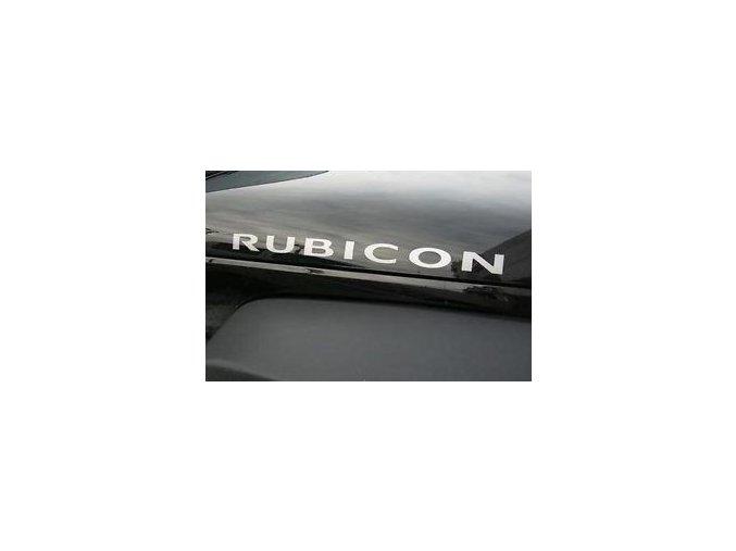 Nápis RUBICON JK