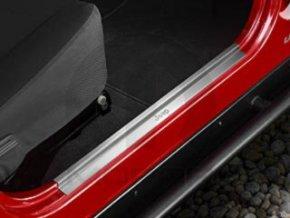 Jeep Wrangler TJ Kryt prahu dveří chrom