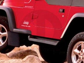 Jeep Wrangler TJ Nášlapy black diamond