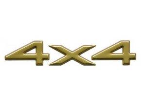 Nápis 4x4 gold WJ/WG