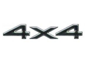 Nápis 4x4 chrome WJ/WG