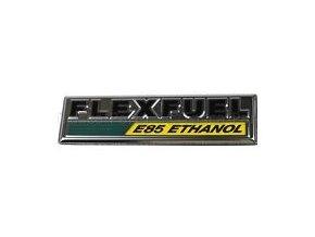 Nápis FLEX FUEL E85 JS