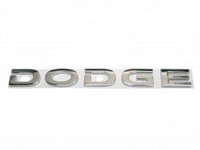 Nápis DODGE