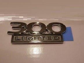 Nápis 300 LIMITED LX
