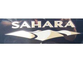 Nápis SAHARA JK