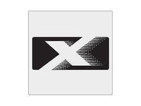 Nápis X BADGE Silver JK
