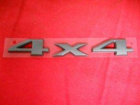 Nápis 4x4 black