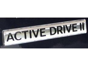 Nápis ACTIVE DRIVE II KL