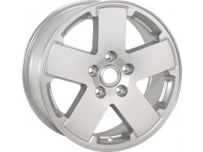 "Mopar kolo 18x7.5"" Cast-Aluminum Wheel in Silver Metallic"