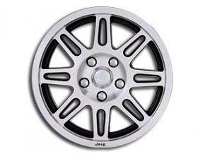 """Mopar kolo 17x7.5"""" in Silver/Black"""