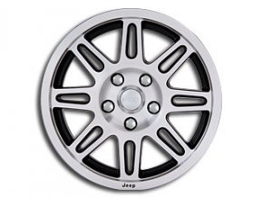 "Mopar kolo 17x7.5"" in Silver/Black"