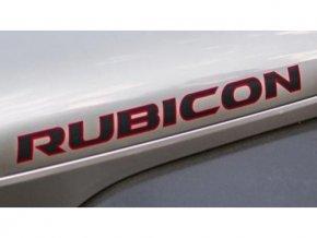 Jeep JK Wrangler samolepka Rubicon