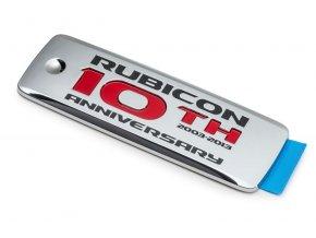 Jeep JK Wrangler emblém Rubicon 10th Anniversary