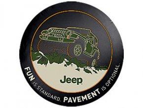 Jeep Wrangler kryt rezervy FUN PAVEMENT 16´