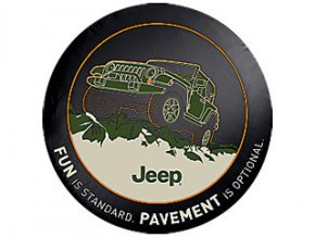 Jeep Wrangler kryt rezervy FUN PAVEMENT 17´-18´