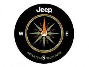 Jeep Wrangler kryt rezervy ADVENTURE 16´