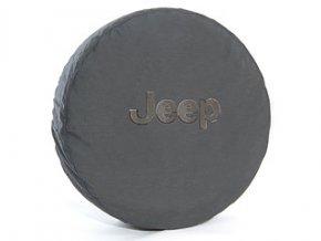 Jeep Wrangler kryt rezervy JEEP BLACK 17´-18´