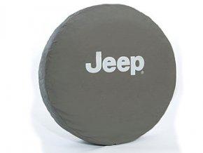 Jeep Wrangler kryt rezervy JEEP SILVER 16´