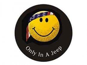 Jeep Wrangler kryt rezervy SMILEY FACE 16´