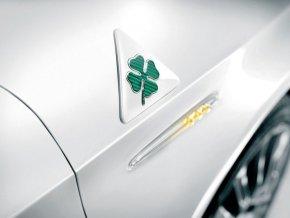 Giulietta Badge se zeleným čtyřlístkem