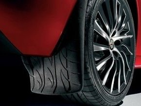 Zadní zástěrky se vzorem běhounu pneumatiky