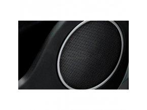 Fiat Punto, EVO rámečky reproduktorů ve dveřích v šedostříbrné barvě comfortline