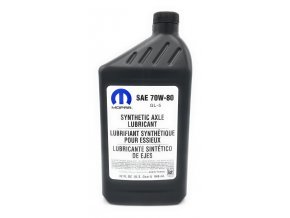 Mopar olej do diferenciálu 70W80 (946ml)