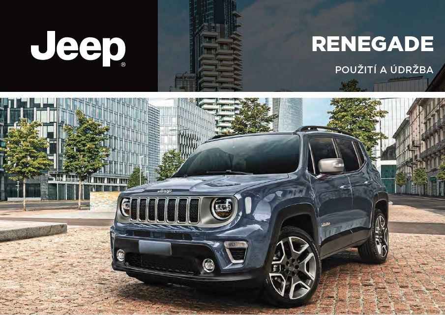 - Návod k použití Jeep Renegade BV 2019-2021 Rok výroby: 2020