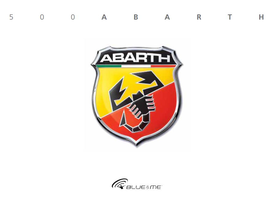 - Návod k použití Abarth 500 Blue&Me 2008-2021 Rok výroby: 2021
