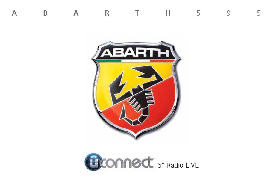 - Návod k použití Abarth 500 uConnect 5 2016-2021 Rok výroby: 2021