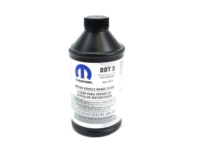 04318080AD - Mopar brzdová kapalina DOT 3 (350ml)